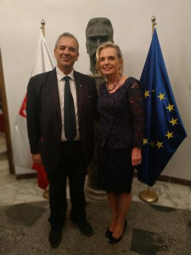 sinergitaly riccardo di matteo ambasciatrice della polonia in italia