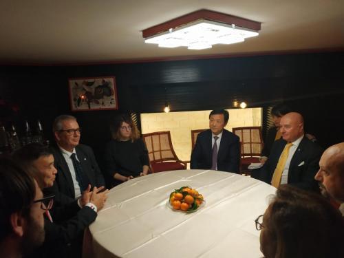sinergitaly riccardo di matteo incontro con il governatore di jiangxii
