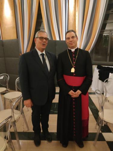 sinergitaly riccardo di matteo incontro con il monsignor cartolari