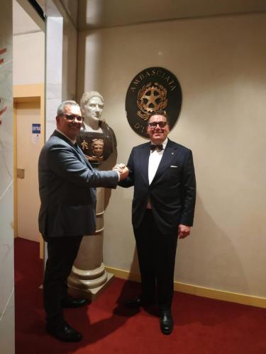 sinergitaly riccardo di matteo incontro con l'ambasciata italiano a montecarlo