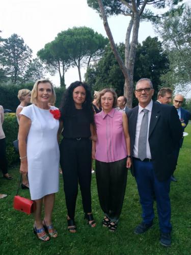 sinergitaly riccardo di matteo incontro con l'ambasciatore della repubblica ceca in italia onroevole francesca galizia e ambasciatore della polonia in italia