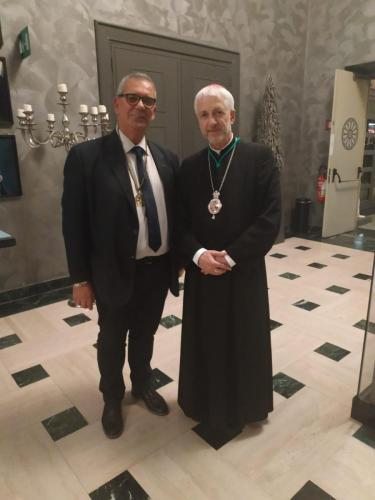 sinergitaly riccardo di matteo incontro monsignor arcivescovo della romania