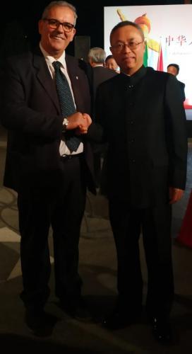 sinergitaly riccardo di matteo incotro con l'ambasciatore cinese in italia