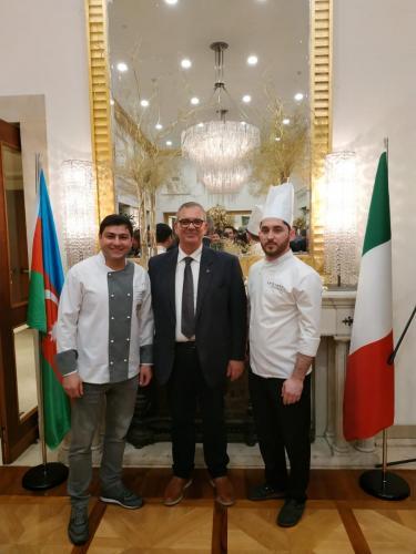 sinergitaly riccardo di matteo manifestazione italia azerbaijan